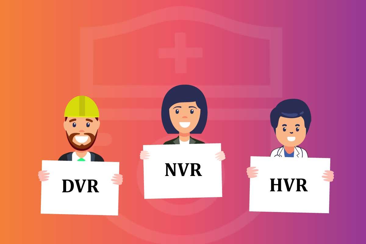 تفاوت دستگاه DVrوNVR