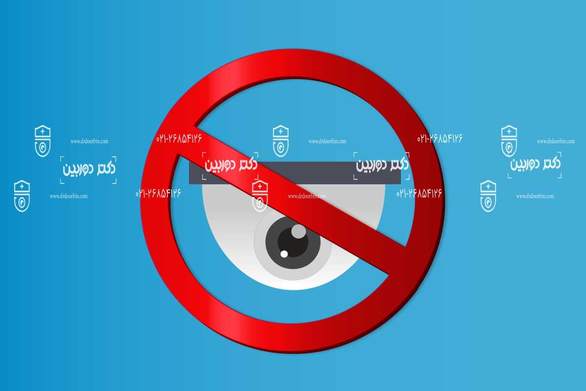 قوانین نصب دوربین مداربسته